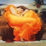 Juin flamboyant, 1895, huile sur toile Reproduction d'art par Frederick Leighton