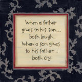 When a Father Gives