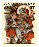 Santa&#39;s Lap  c1923