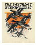 Ducks in Flight  c1921
