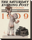 New Year's Baby  c1909: Knocking