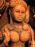 Aspara Bas-Relief at Banteay Srei  Angkor  Siem Reap  Cambodia