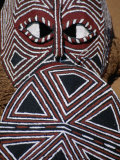Painted Mask  Victoria Falls Park  Zimbabwe