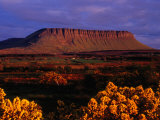 Benbulbin Mountain  County Sligo  Ireland