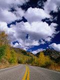 Scenic Highway 82  Aspen  Colorado  USA