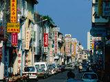 Chinatown Street  Georgetown  Penang  Malaysia