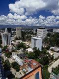 High-Rises in Downtown  Guatemala City  Guatemala