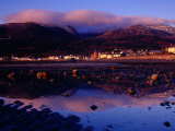 Newcastle Seafront and the Mourne Mountains at Dawn  Newcastle  Northern Ireland