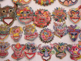 Traditional Masks or &quot;Tinajone &quot; Camaguey  Cuba