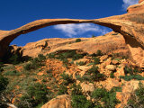 Landscape Arch  Arches National Park  Utah  USA
