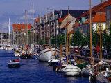 Christianshavn Canal  Copenhagen  Denmark