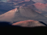 Aerial View of Volcanic Crater  Haleakala National Park  USA
