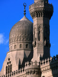 Minarets and Roof Detail of Al-Rifai Mosque  Cairo  Egypt