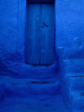 Painted Door  Wall and Steps  Pothia  Kalymnos  Greece