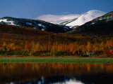 Autumn Landscape  Skjak  Oppland  Norway