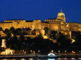 The Re-Constructed Royal Palace on Castle Hill  Budapest  Hungary