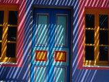 Filtered Sunlight on House  Greece