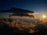 Sunrise from Mt Fuji  Mt Fuji  Japan