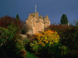 Crathes Castle and Gardens  Deeside  United Kingdom