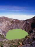 Principal Crater of Volcanic Area  Irazu Volcano National Park  Costa Rica