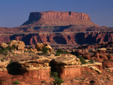 Colorado Overlook  Needles Area  Canyonlands National Park  Utah  USA