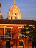 """Dome of Cartagena De Indias"" Cathedral and Colonial Architecture  Cartagena  Colombia"