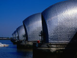 The Thames Barrier  London  United Kingdom