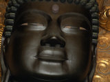 Detail of Daibutsu (Great Buddha) Statue  in Daibutsu-Den Hall of Todai-Ji Temple  Nara  Japan