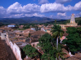 Rooftops of Town  Trinidad  Cuba