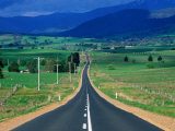 Road to Mt Buller in the Victorian Alps  Victoria  Australia