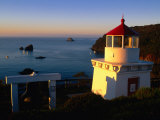 Trinidad Head Lighthouse  Trinidad  California  USA