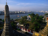 Wat Arun Stupa  Bangkok  Thailand