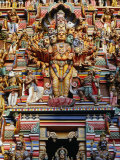 Highly Decorated Sri Lankan Hindu Temple or Kovils  Colombo  Western  Sri Lanka