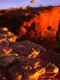 Section of Kings Canyon  Watarrka National Park  Australia