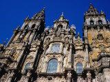 Catedral Del Apostol  Santiago De Compostela  Galicia  Spain