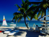 Sail Boats and Crafts for Rent on Beach  Flic En Flac  Mauritius