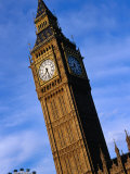 Exterior of Big Ben with Part of London Eye  London  United Kingdom