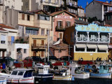 Harbour of Vallon Des Auffes  Marseille  France