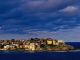 North Bondi Headland at Sunset  Sydney  Australia