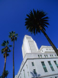 Los Angeles City Hall (1928) on North Spring Street  Los Angeles  California  USA