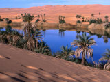 Umm Al-Miah- One of the Oasis Pools Part of the Dawada Lakes  Awbari  Libya