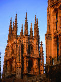Gothic Cathedral  Burgos  Spain