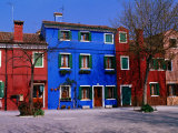 Colourful House Facades  Burano  Veneto  Italy