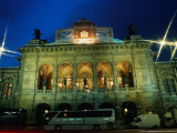The National Opera House  Vienna  Austria