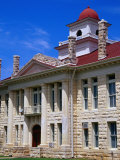 Blanco County Courthouse Johnson City  Texas  USA