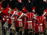 """Horseguards"" Parade at the Trooping of the Colour  London  England"