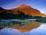 Sgurr Dubh Reflected at Dawn in Waters of Loch Clair  Torridon  Scotland