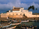Castle of St George  Old Gold and Slave Trading Centre  Elmina  Ghana
