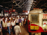 Victoria Terminus Train Station  Mumbai  Chennai  India