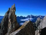 Pinnacle on Southern Spur of Monte Propera  Dolomiti Di Sesto Natural Park Italy